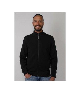 Petrol Industries Sweater collar zwart M-3010-SWC327