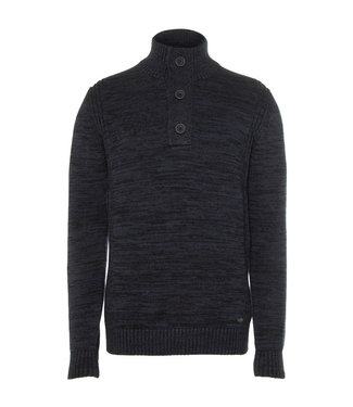 Petrol Industries Men knitwear collar donkerblauw M-3010-KWC206