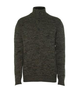 Petrol Industries Men knitwear collar donkergroen M-3010-KWC206