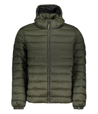 Superdry Classic fuji puffer jacket donkergroen M5011201A