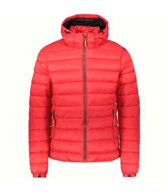 Superdry Classic fuji puffer jacket rood M5011201A