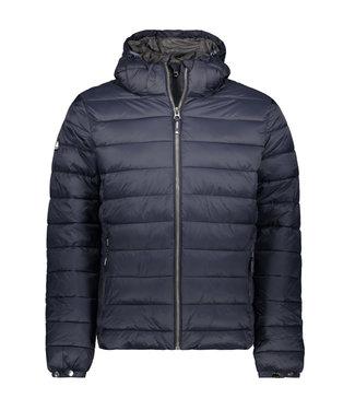 Superdry Classic fuji puffer jacket donkerblauw M5011201A