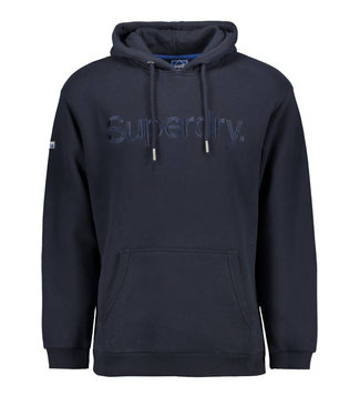 Superdry CL source hood donkerblauw M2011417A
