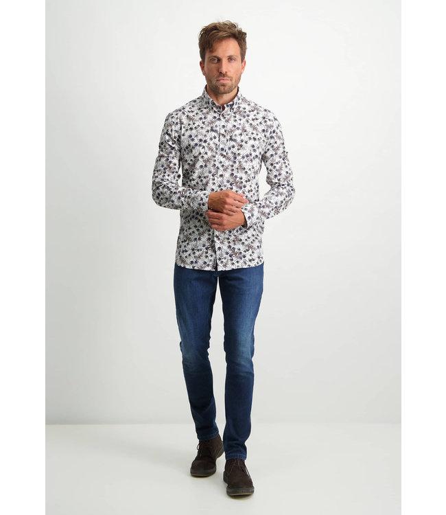 State of Art Shirt LS Printed Pop 214-21169-8459