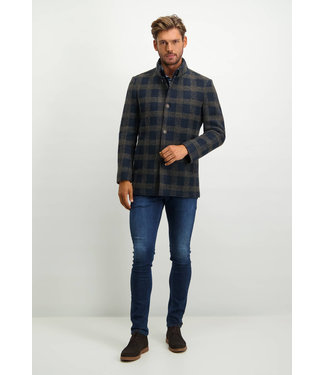 State of Art Jacket Checked - Len 785-21529-5986