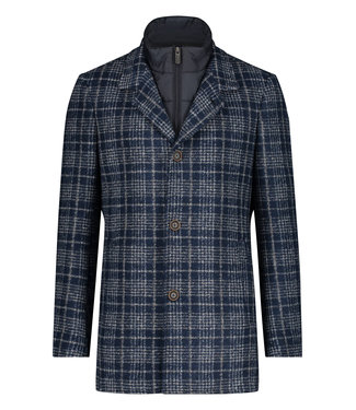 State of Art Jacket Checked - Len 785-21531-5992