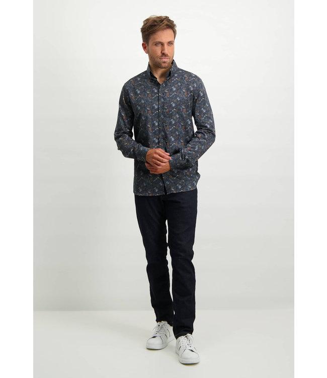 State of Art Shirt LS Printed Pop 214-21153-5984