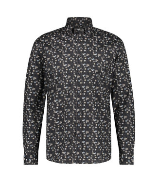 State of Art Shirt LS Printed Pop 214-21270-9298