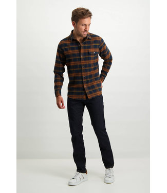 State of Art Shirt LS Checked - O 215-21264-2984