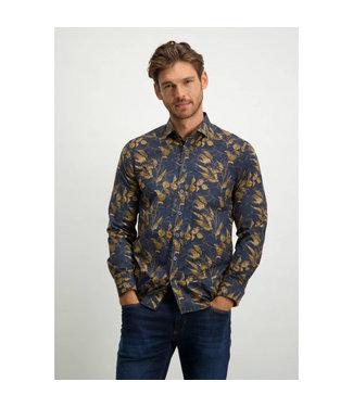 State of Art Shirt LS Printed Pop 214-21207-5984