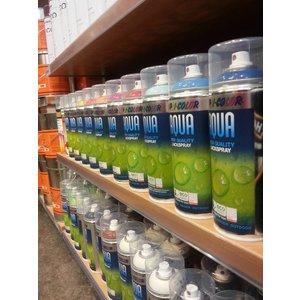 Spuitbus in RAL-kleuren van Dupli Color waterbasis