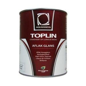 Aquamarijn - Toplin aflak glans - standverf op lijnoliebasis