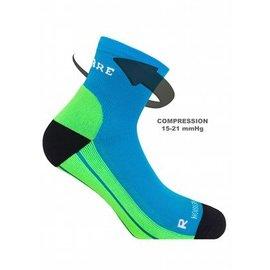 Supcare Compressiesokken sport, blauw-groen