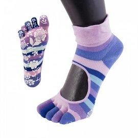 ToeToe ToeToe yoga sokken antislip  -  roze/paars