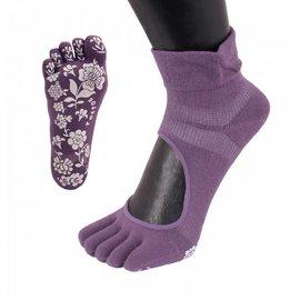 ToeToe ToeToe yoga sokken antislip  - paars