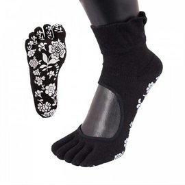 ToeToe ToeToe yoga sokken antislip  - zwart
