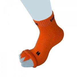 ToeToe ToeToe Health teenscheider-sokken, Oranje