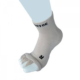 ToeToe ToeToe Health teenscheider-sokken, Beige