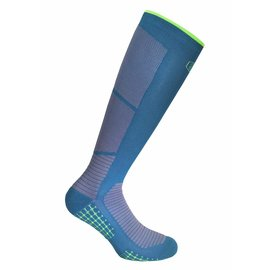 Supcare Extreme Bounce sport compressiekousen - blauw