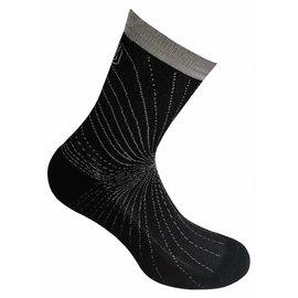Supcare Cooling Knit compressie-sportsokken - zwart