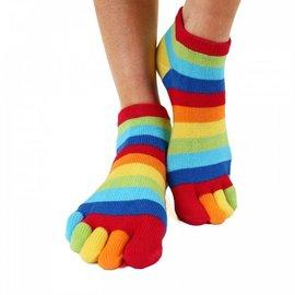 ToeToe ToeToe Essential Anklet teensokken - Rainbow