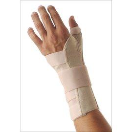 Orthopedische polsbrace voor de linkerhand
