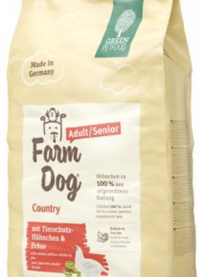Green Petfood Farm Dog Adult/ Senior Country