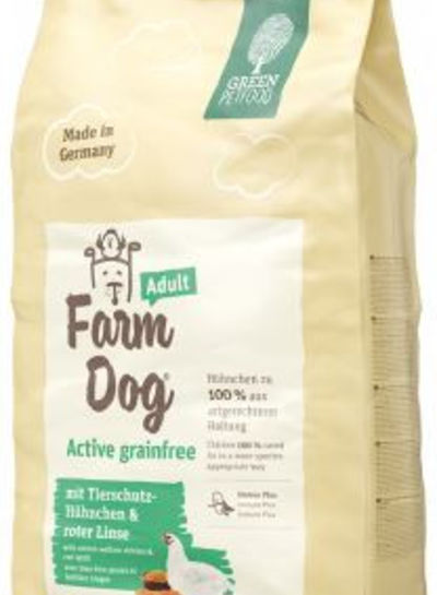 Green Petfood Farm Dog Adult Active Grainfree