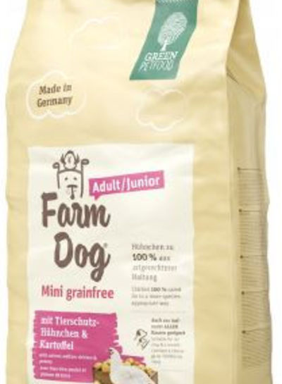 Green Petfood Farm Dog Adult/Junior Mini Grainfree