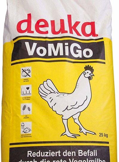Deuka  Deuka  VOMIGO Legemehl  Alleinfutter gegen die Rote Vogelmilbe 25kg