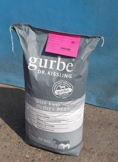 Dr.Kissling Gurbe Pferdefutter Due Evo Oldies Comfort 20 kg