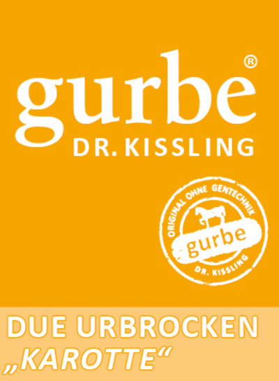 Dr.Kissling Gurbe Pferdefutter Gurbe Urbrocken 1,2 kg