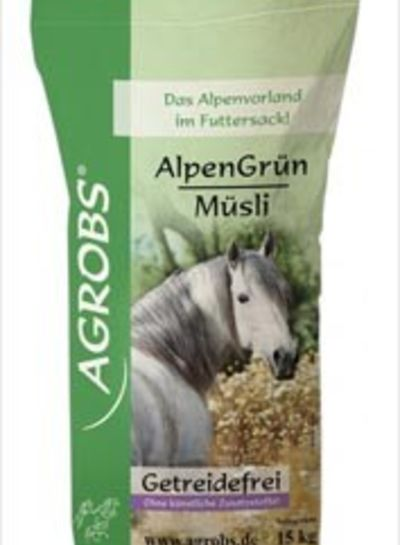 Alpengrün Müsli Agrobs