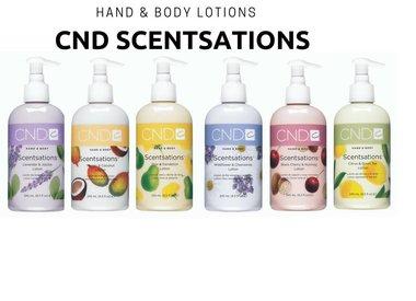 CND Scentsations Lotions