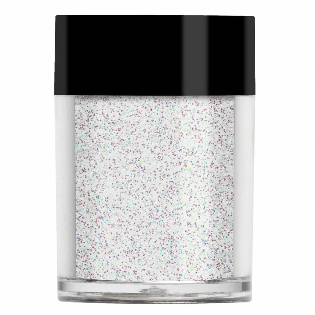 Lecenté Lecenté White Holographic Glitter
