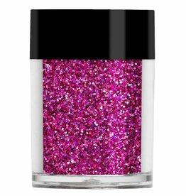 Lecenté Lecenté Darkest Pink Holographic Glitter