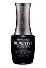 Artistic Nail Design Reactive Bonder Top Coat 15ml