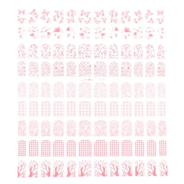Bell'ure Filigree Pink R004