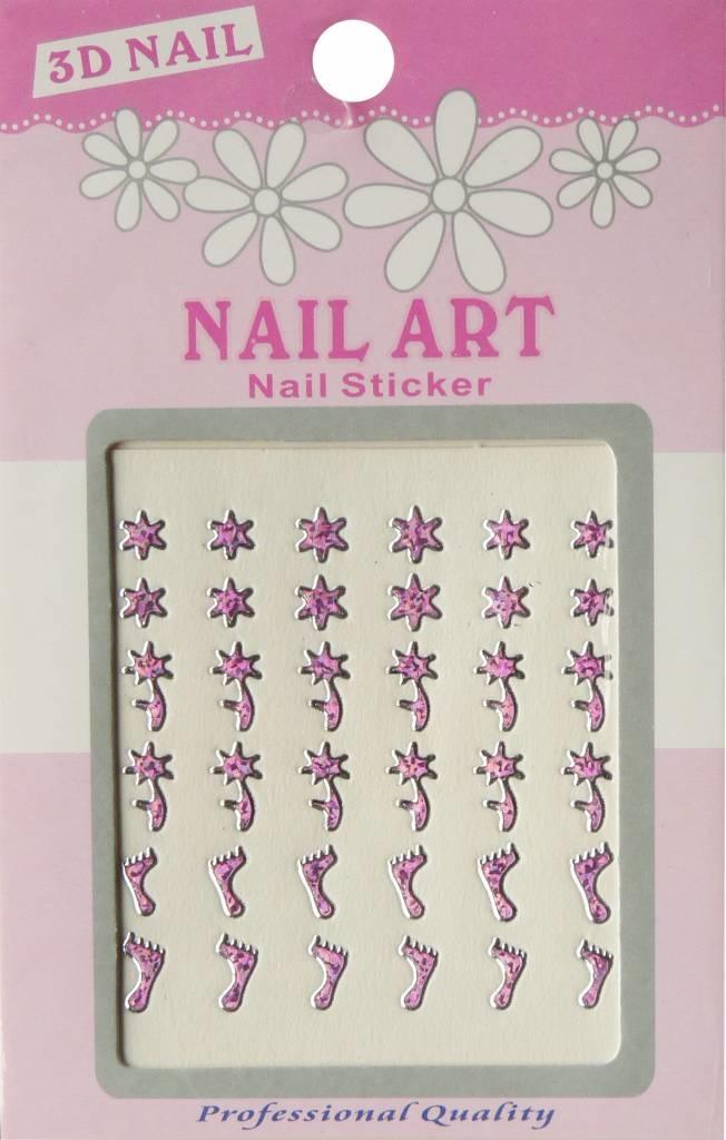 Bell'ure Nail Art Sticker 3D 103
