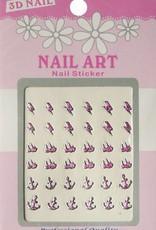 Bell'ure Nail Art Sticker 3D 105