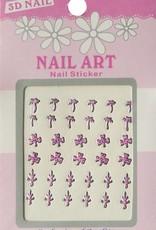 Bell'ure Nail Art Sticker 3D 108