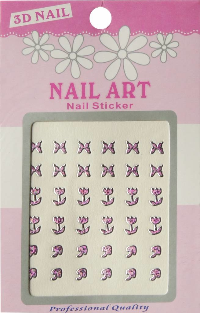 Bell'ure Nail Art Sticker 3D 112