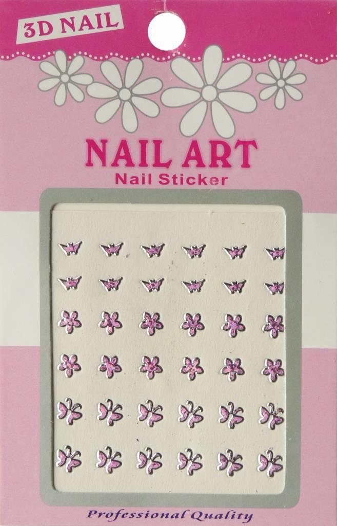 Bell'ure Nail Art Sticker 3D 120