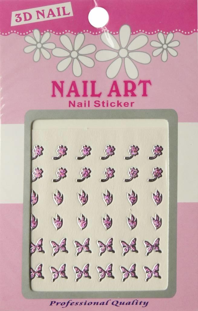Bell'ure Nail Art Sticker 3D 122