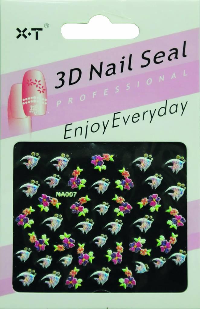 Bell'ure Nail Art Sticker Fish