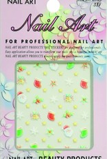 Bell'ure Nail Art Sticker Christmas Holly