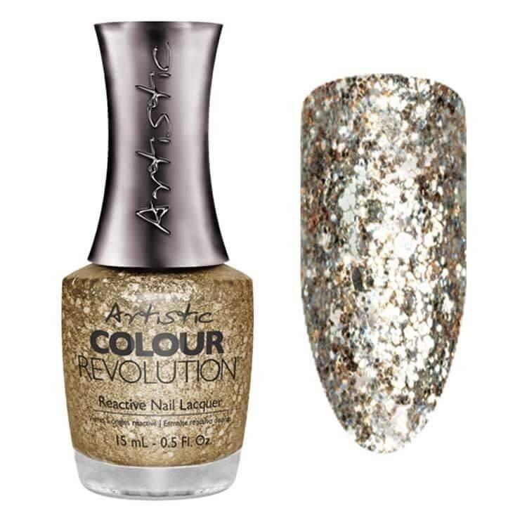 Artistic Nail Design Artistic Color revolution Glamorous
