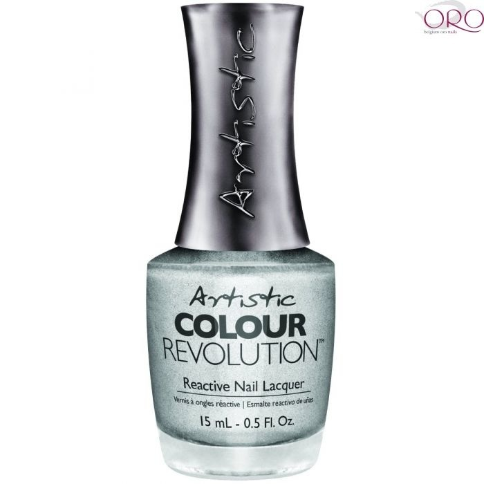 Artistic Nail Design Artistic Color revolution Heart of chrome nagellak