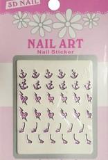Bell'ure Nail Art Sticker 3D 104