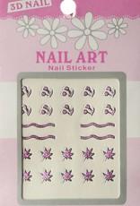 Bell'ure Nail Art Sticker 3D 107